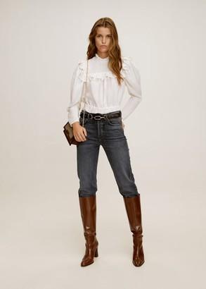 MANGO Premium straight jeans
