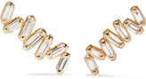 Suzanne Kalan 18-karat Gold Diamond Earrings - one size