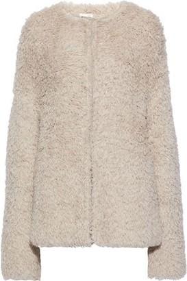 Skin Rosie Fringed Open-knit Cardigan