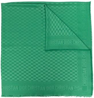 Christian Dior Pre-Owned Logo Jacquard Scarf