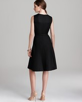 Anne Klein Color Block Belted Dress - Sleeveless