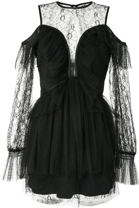 Alice McCall Samsara lace-panelled tulle dress