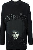 Yohji Yamamoto skull print sweatshirt - men - Cotton - 3