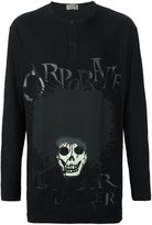 Yohji Yamamoto skull print sweatshirt