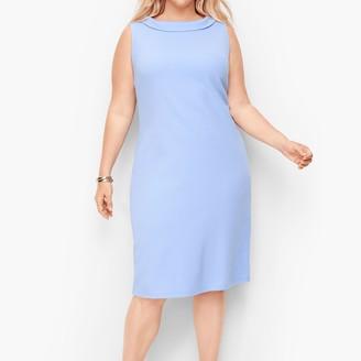Talbots Audrey Knit Shift Dress - Solid