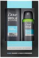 Dove Men+Care Men's Body and Face Wash Gift Set