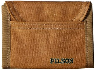 Filson Smokejumper Wallet (Dark Tan) Wallet Handbags