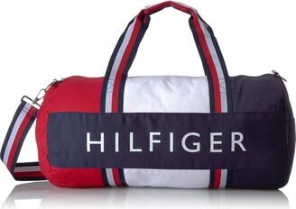 Tommy Hilfiger Women's Duffle Bag Patriot Colorblock Duffel