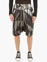 Rick Owens Camouflage Pod Shorts