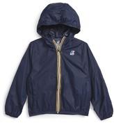 K-Way Girl's 'Claude 3.0' Hooded Waterproof Windbreaker Jacket