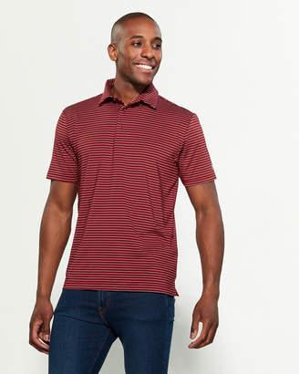 Under Armour UPF30 Stripe Short Sleeve Polo