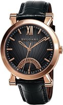 Bulgari SBP42BGLDR Men's Sotirio Watch Bulgari, 18K Rose Gold Case