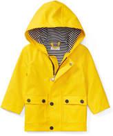 Ralph Lauren Hooded Raincoat, Yellow, Size 9-24 Months