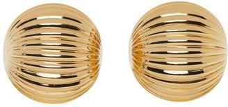 Lanvin Gold Arpege Clip-On Earrings