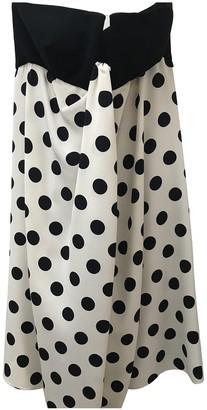 Valentino White Silk Dresses
