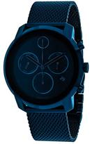 Movado Bold 3600403 Men's Blue Ion-Plated Stainless Steel Chronograph Watch