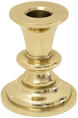 Jefferson Brass Gunston Hall Candlestick, Polished, Polished