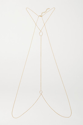 Kimberly 18-karat Gold Diamond Body Chain - one size