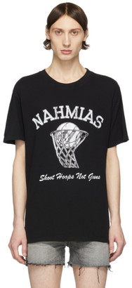 Nahmias Black Shoot Hoops T-Shirt