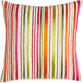 Sabira Garden Party Stripes Pillow