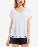 Vince Camuto Two by Cotton High-Low T-Shirt