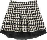Dondup Printed cotton skirt
