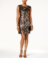 Connected Deco Sequined Dress