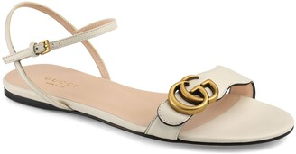 Gucci Quarter Strap Flat Sandal
