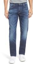 Hudson Byron Slim Straight Leg Jeans (Despondant Blue)
