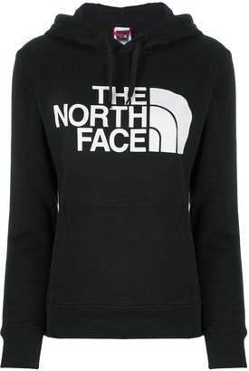 The North Face Long-Sleeved Logo Print Hoodie