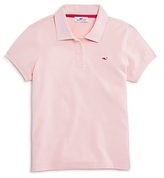 Vineyard Vines Girls' School of Whales Polo Shirt - Little Kid