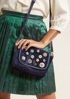 ModCloth Revel in Velvet Crossbody Bag
