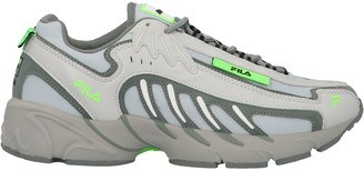 MSGM X Fila Lace Up Sneakers