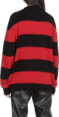 Joshua Sanders Striped Smiley Sweater