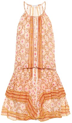 Poupette St Barth Exclusive to Mytheresa Honey printed cotton dress