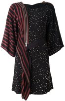 3.1 Phillip Lim mix print kimono dress - women - Silk/Acetate/Viscose - 0