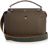 Fendi Dotcom leather and snakskin bag