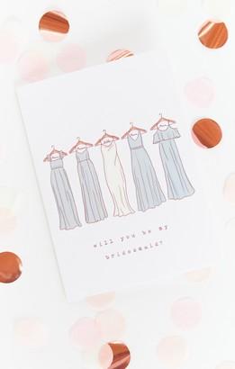 Show Me Your Mumu Bridesmaid Proposal Card