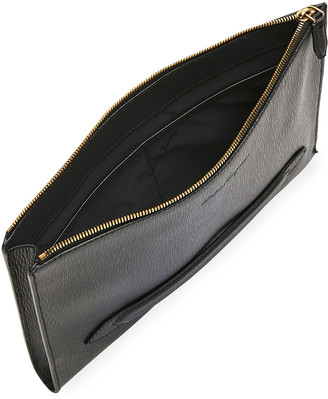 Salvatore Ferragamo Men's Textured Leather Portfolio