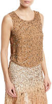 Haute Hippie Criminal Love Beaded Open-Side Top