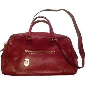 Marc Jacobs Single Burgundy Leather Handbags