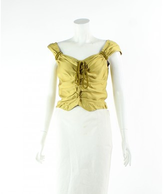Louis Vuitton Yellow Synthetic Tops