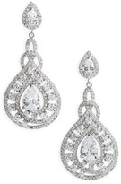Nina Women's Glamorous Drop Earrings