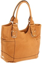 B. Makowsky - Davis Tote (Caramel) - Bags and Luggage