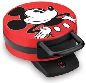 Disney Mickey Mouse Round Character Waffle Maker