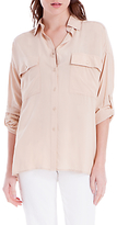 Max Studio Relaxed Check Shirt, Pink