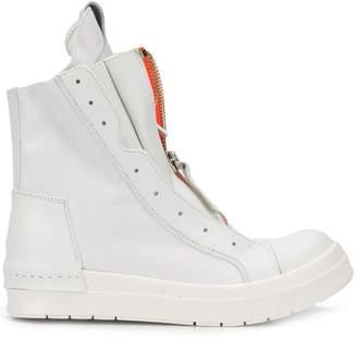 Cinzia Araia zipped-up sneakers