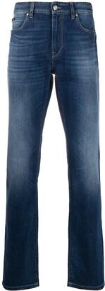 Ermenegildo Zegna Mid-Rise Straight Jeans