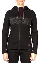 Spyder Soiree Hoodie Mid-weight Core Sweater.