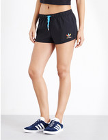 adidas Slim-fit crepe shorts